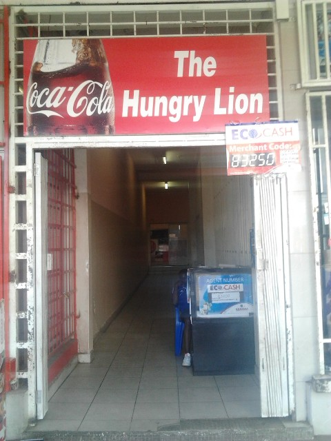 A fast food restaurant in Harare